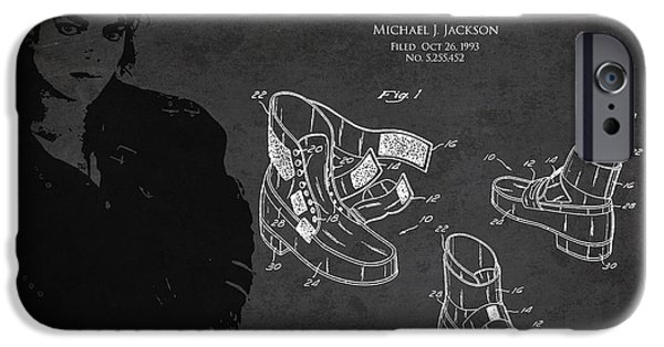 Michael Jackson Patent IPhone 6s Case by Aged Pixel