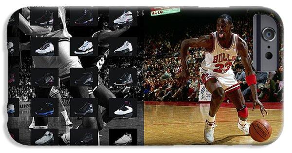 Michael Jordan Shoes IPhone 6s Case by Joe Hamilton