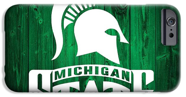 Michigan State Barn Door IPhone 6s Case by Dan Sproul
