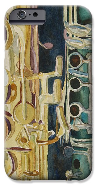 Midnight Duet IPhone 6s Case by Jenny Armitage