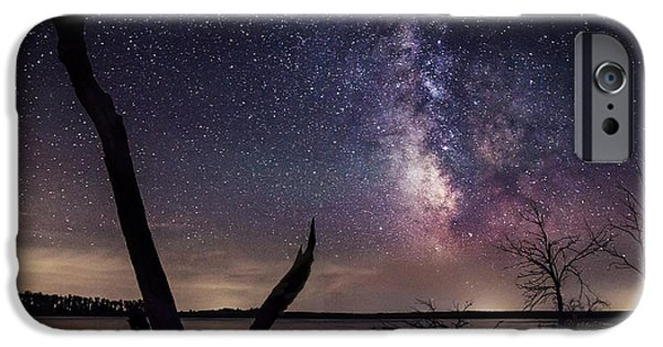 Milky Way Tree IPhone Case by Aaron J Groen
