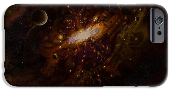 Milky Way IPhone Case by Zina Stromberg