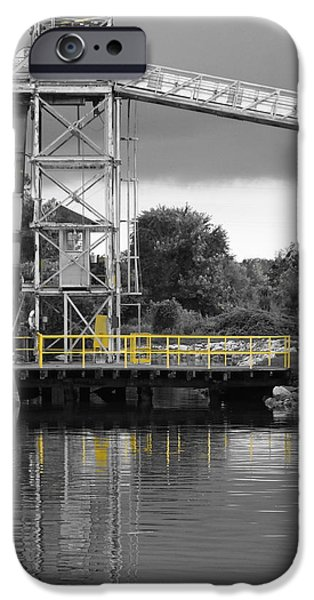 Mill In Selective Color  IPhone Case by Francie Davis