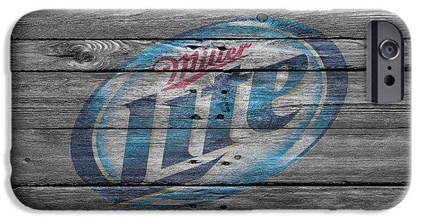 Miller Lite IPhone Case by Joe Hamilton