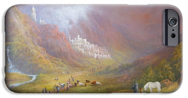 Minas Tirith  War Approaches. IPhone 6s Case by Joe  Gilronan