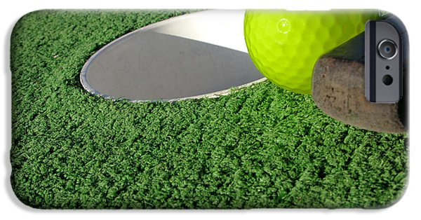 Miniature Golf IPhone Case by Olivier Le Queinec
