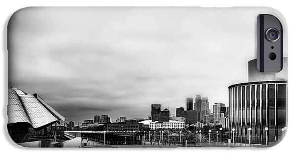 Minneapolis From The University Of Minnesota IPhone Case by Tom Gort