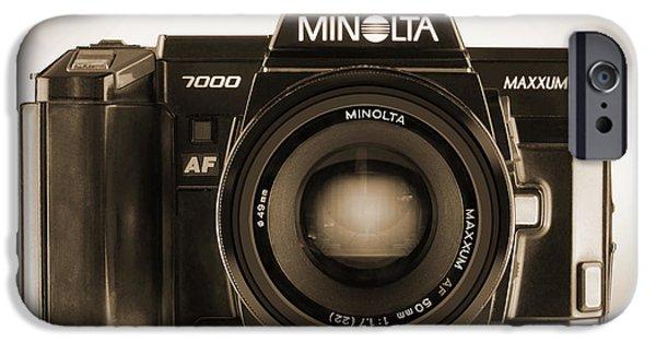Minolta Maxxum IPhone Case by Mike McGlothlen
