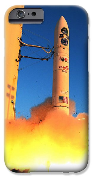Minotaur Iv Rocket Launches Falconsat-5 IPhone 6s Case by Science Source
