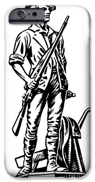 Minutemen IPhone Case by Granger
