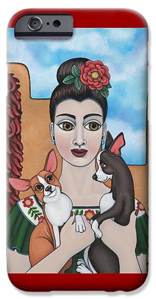 Mis Carinos IPhone Case by Victoria De Almeida