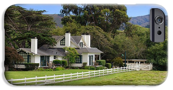 Mission Ranch - Carmel California IPhone Case by Glenn McCarthy Art and Photography