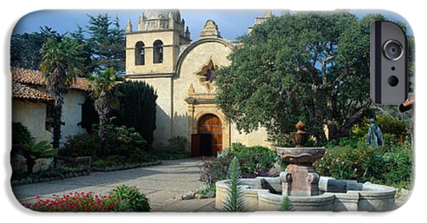 Mission San Carlos Borromeo De Carmelo IPhone 6s Case by Panoramic Images