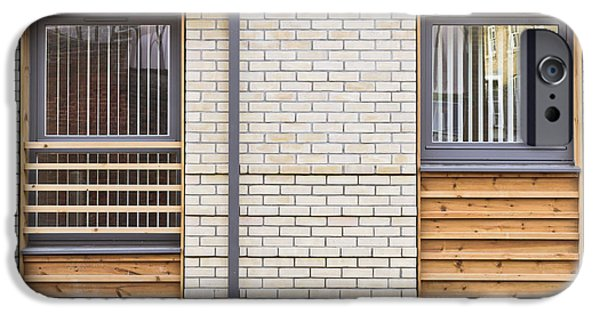 Modern Apartment Windows IPhone Case by Tom Gowanlock