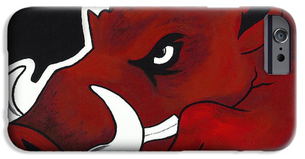 Modern Hog IPhone 6s Case by Jon Cotroneo