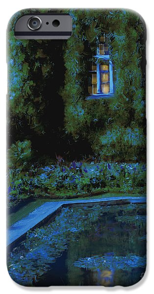 Monet Hommage 2 IPhone Case by Danella Students