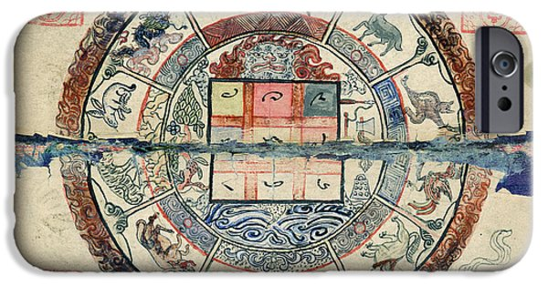 Mongolian Astrology IPhone Case by National Library Of Medicine