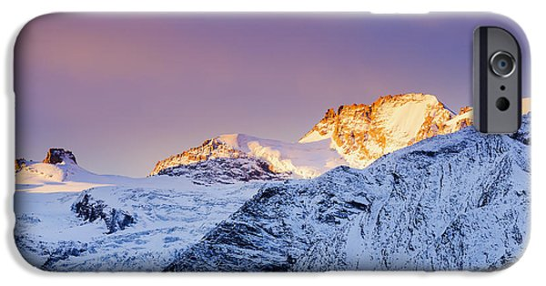 Mont Gran Paradiso, Gran Paradiso IPhone Case by Yves Marcoux