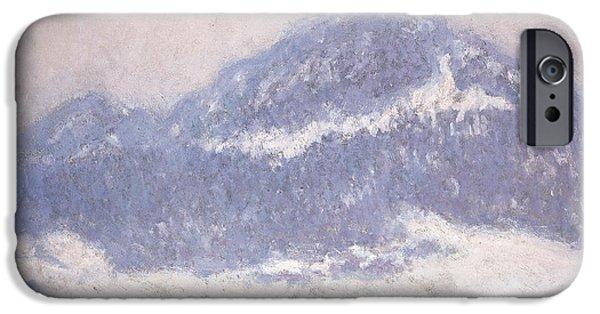 Mont Kolsaas IPhone Case by Claude Monet