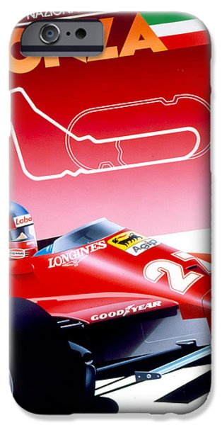 Monza IPhone Case by Gavin Macloud