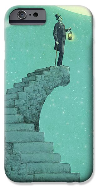 Moon Steps IPhone 6s Case by Eric Fan
