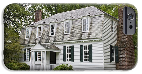 Moore House Yorktown IPhone Case by Teresa Mucha