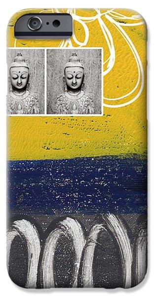 Morning Buddha IPhone Case by Linda Woods