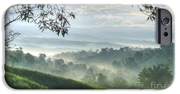 Morning Mist IPhone Case by Heiko Koehrer-Wagner