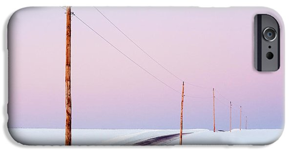 Morning Road IPhone Case by Todd Klassy