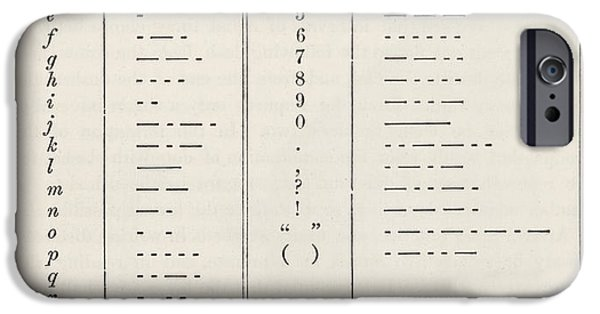 Morse Code System IPhone Case by King's College London