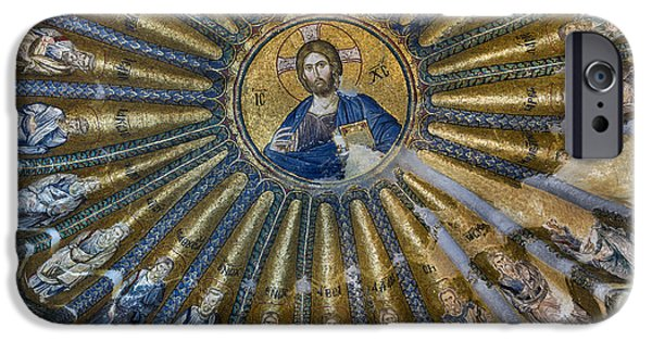 Mosaic Of Christ Pantocrator IPhone Case by Ayhan Altun