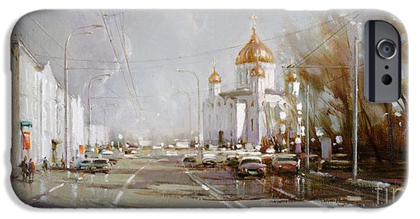 Moscow. Cathedral Of Christ The Savior IPhone 6s Case by Ramil Gappasov