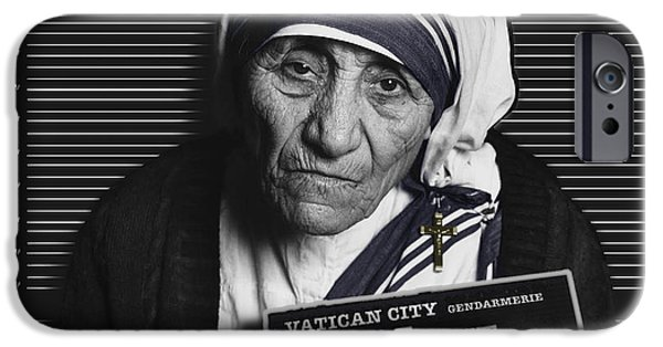 Mother Teresa Mug Shot IPhone 6s Case by Tony Rubino