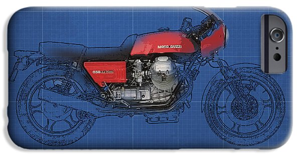 Moto Guzzi 850 Le Mans 1976 IPhone Case by Pablo Franchi
