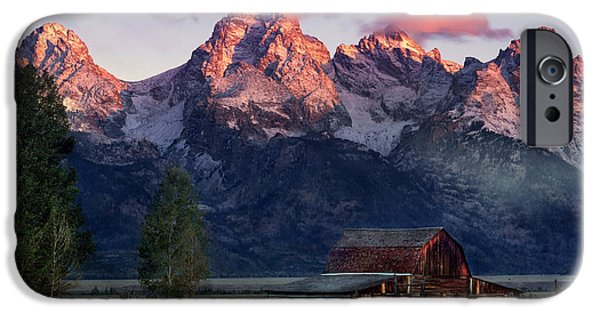 Moulton Barn IPhone Case by Leland D Howard