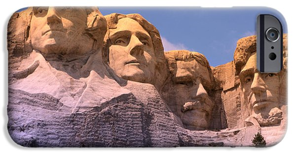 Mount Rushmore IPhone Case by Olivier Le Queinec