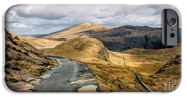 Mountain Path IPhone Case by Adrian Evans