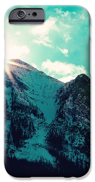 Mountain Starburst IPhone 6s Case by Kim Fearheiley