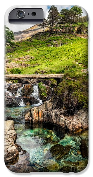 Mountain Trail IPhone Case by Adrian Evans