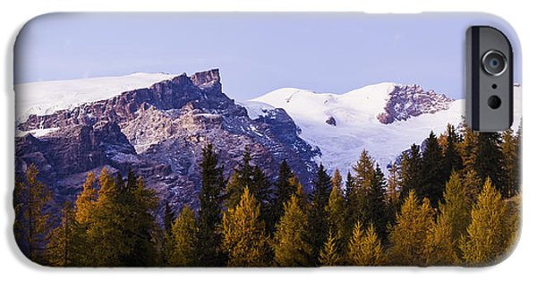 Mountains From Champoluc_ Italy IPhone Case by Yves Marcoux