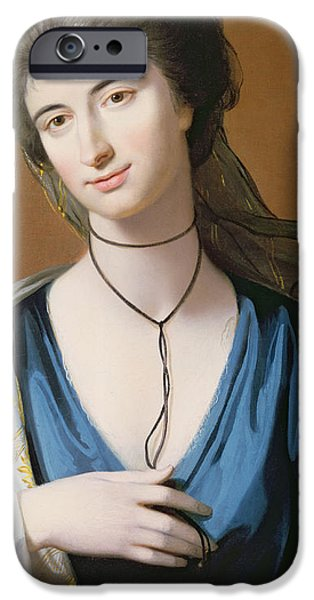 Mrs Fall IPhone Case by Benjamin West