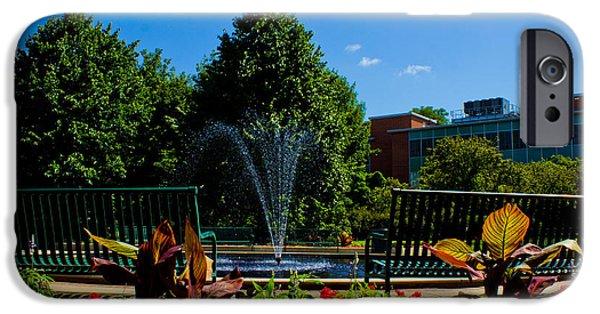 Msu Water Fountain IPhone 6s Case by John McGraw