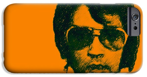 Mugshot Elvis Presley Square IPhone Case by Wingsdomain Art and Photography