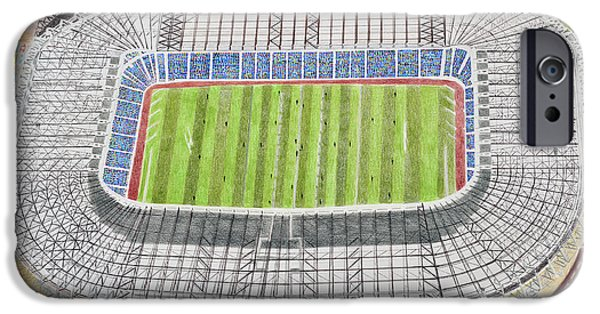 Murrayfield Stadia Art - Scotland Rugby Union IPhone Case by Brian Casey