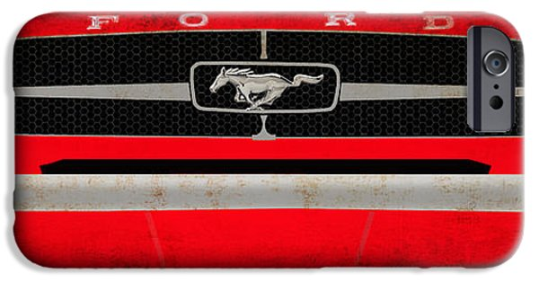 Mustang IPhone Case by Mark Rogan