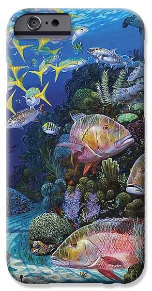 Mutton Reef Re002 IPhone Case by Carey Chen