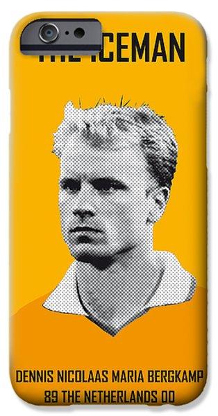 My Bergkamp Soccer Legend Poster IPhone 6s Case by Chungkong Art
