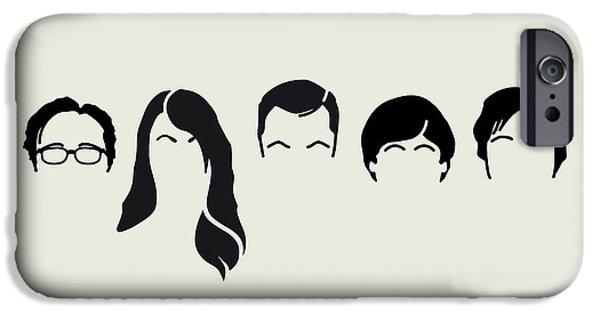 My-big-bang-hair-theory IPhone Case by Chungkong Art