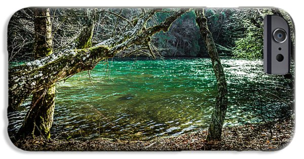 My Brother's River IPhone Case by Karen Wiles