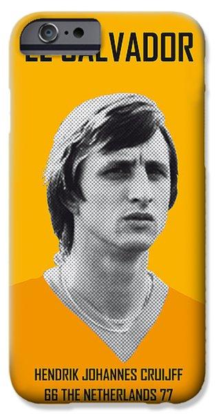My Cruijff Soccer Legend Poster IPhone 6s Case by Chungkong Art